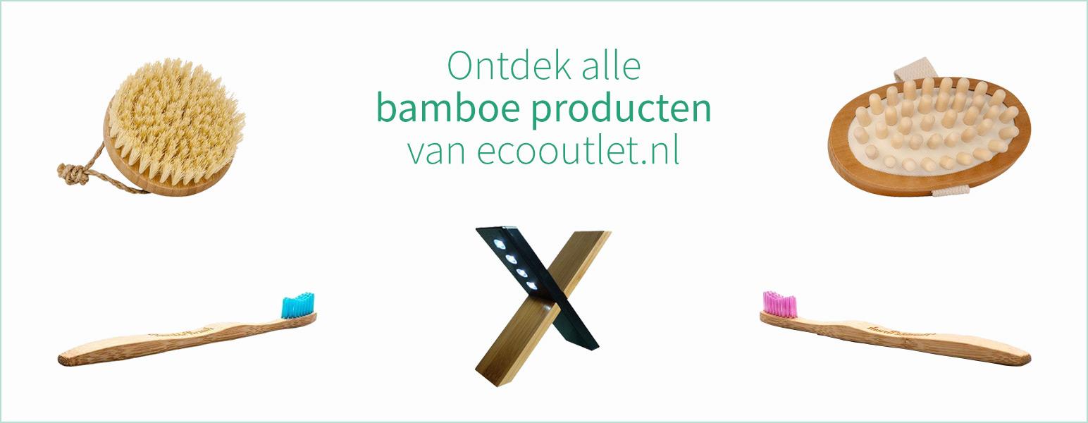 Alle bamboe producten van ecooutlet